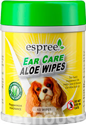 Espree Aloe Ear Care Pet Wipes