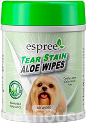 Espree Aloe Tear Stain Wipes