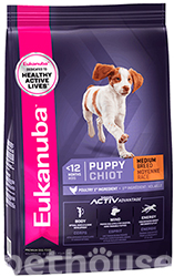 Eukanuba Puppy & Junior Medium Breed Chicken