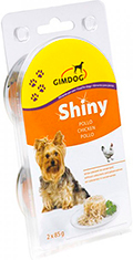 Gimpet Shiny Dog консерва для собак, с курицей