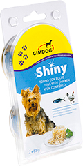 Gimpet Shiny Dog консерва для собак, с цыпленком и тунцом