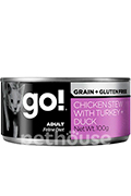 GO! Feline Grain Free Chicken Pate with Turkey + Duck