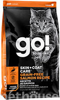 GO! Solutions Skin+Coat Care Grain-Free Salmon Cat Recipe