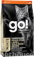 GO! Solutions Carnivore Grain-Free Lamb & Wild Boar Cat Recipe