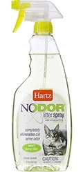 Hartz Nodor Litter Spray, c ароматом