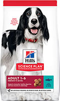 Hill's SP Canine Adult Medium Breed Tuna & Rice