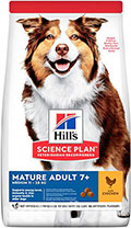 Hill's SP Canine Mature Adult 7+ Medium Breed Chicken