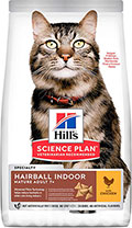 Hill's SP Feline Mature Аdult 7+ Hairball Chicken