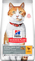Hill's SP Feline Adult Young Sterilised Cat With Chicken