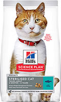 Hill's SP Feline Adult Young Sterilised Cat With Tuna