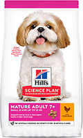 Hill's SP Canine Mature Adult 7+ Small & Miniature Chicken & Turkey
