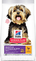 Hill's SP Canine Adult Small & Miniature Sensitive Stomach & Skin