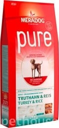Meradog Pure Turkey & Rice
