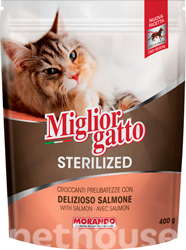 Migliorgatto Sterilized Salmon