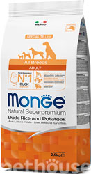 Monge Speciality Line Dog Adult All Breeds Duck, Rice & Potatoes