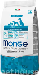 Monge Speciality Line Dog Adult All Breeds Hypoallergenic Salmon and Tuna