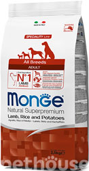 Monge Speciality Line Dog Adult All Breeds Lamb, Rice & Potatoes
