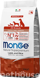 Monge Speciality Line Puppy & Junior All Breeds Lamb, Rice & Potatoes