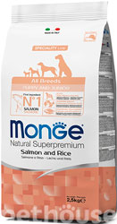 Monge Speciality Line Puppy & Junior All Breeds Salmon and Rice