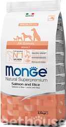 Monge Speciality Line Dog Adult All Breeds Salmon and Rice