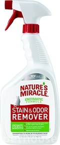 Nature's Miracle Just for Cats Stain & Odor Remover, Spray