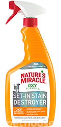 Nature's Miracle Dog Orange Oxy Formula, спрей