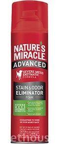 Nature's Miracle Advanced Dog Stain & Odor Eliminator, аерозоль-піна