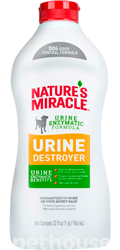 Nature's Miracle Urine Destroyer Dog Stain & Odor Remover, розчин