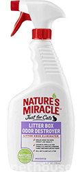 Nature's Miracle Litter Box Odor Destroyer, спрей