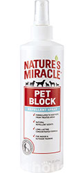 Nature's Miracle Pet Block Спрей-отпугиватель для собак
