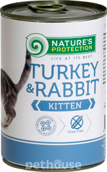 Nature's Protection Kitten Turkey & Rabbit