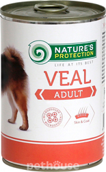 Nature's Protection Dog Adult Veal