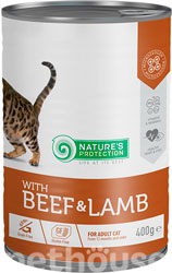 Nature's Protection Cat Adult Beef & Lamb