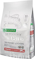 Nature's Protection Superior Care White Dog Grain Free Starter All Breeds