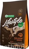 Nature's Protection Lifestyle Grain Free Salmon with Krill Junior All Breeds