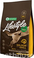 Nature's Protection Lifestyle Grain Free Salmon with Krill Starter For Puppies