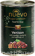 Nuevo Dog Adult Venison & Noodles & Cowberry