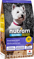 Nutram S7 Sound Balanced Wellness Small Breed Adult Dog
