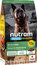 Nutram T26 Total Grain-Free Lamb & lentils Dog