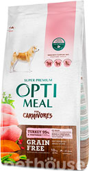 Optimeal Dog Adult Grain Free Turkey & Vegetables