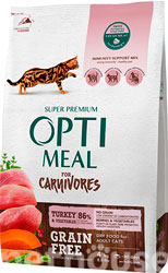 Optimeal Cat Adult Grain Free Turkey & Vegetables