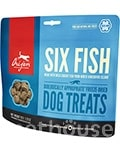 Orijen Six Fish Dog Treats - лакомства для собак