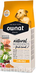 Ownat Classic Dog Adult Lamb & Rice