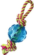 Petstages Mini Orka Ball with rope - Орка мини мячик с канатиками