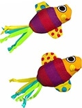 Petstages Fishy fun - Рыбки с кошачьей мятой