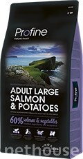 Profine Dog Adult Large Breed Salmon & Potatoes