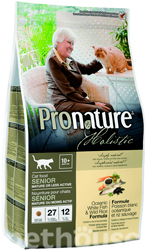 Pronature Holistic Cat Oceanic White Fish & Wild Rice