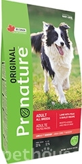 Pronature Original Dog Adult Lamb Peas & Barley
