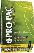 Pro Pac Ultimates Large Breed Puppy Chicken & Brown Rice Formula