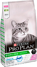 Purina Pro Plan Cat Sterilised Senior Turkey